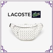 LACOSTE Tropical Patterns Casual Style PVC Clothing Elegant Style