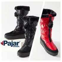 Pajar Platform Rubber Sole Plain Ankle & Booties Boots