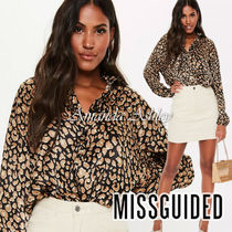 Missguided Casual Style Long Sleeves Other Animal Patterns Medium
