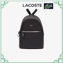 LACOSTE Casual Style Plain PVC Clothing Backpacks