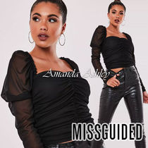 Missguided Casual Style Long Sleeves Plain Medium Party Style
