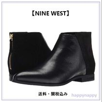 Nine West Plain Leather Ankle & Booties Boots