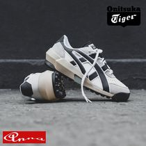 Onitsuka Tiger Suede Blended Fabrics Street Style Plain Leather Sneakers