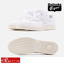 Onitsuka Tiger Blended Fabrics Street Style Plain Leather Sneakers