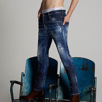 D SQUARED2 Cotton Skinny Jeans