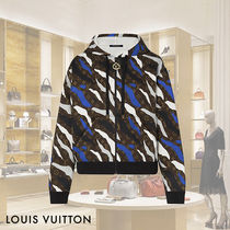 Louis Vuitton Camouflage Sweat Long Sleeves Hoodies