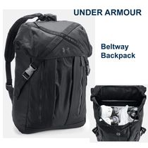 UNDER ARMOUR Casual Style Unisex Office Style Backpacks