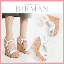 Alexandre Birman Open Toe Casual Style Leather Party Style Elegant Style