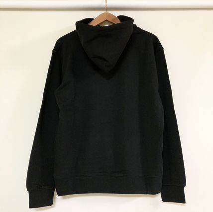 COMME des GARCONS Hoodies Pullovers Unisex Street Style Long Sleeves Cotton Logo 6