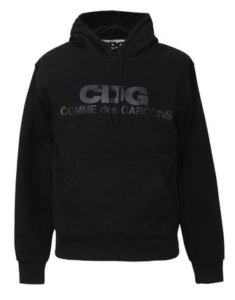 COMME des GARCONS Hoodies Pullovers Unisex Street Style Long Sleeves Cotton Logo 3
