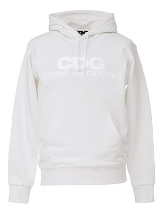 COMME des GARCONS Hoodies Pullovers Unisex Street Style Long Sleeves Cotton Logo 4