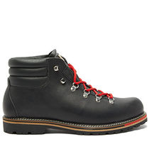 Mountain Boots Unisex Plain Leather Military Outdoor Boots