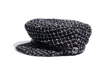 CHANEL Blended Fabrics Special Edition Beret