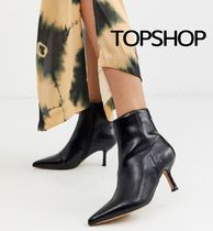 TOPSHOP Plain Toe Casual Style Plain Party Style Office Style