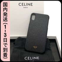 CELINE Plain iPhone XS Max Logo Smart Phone Cases