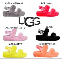 UGG Australia Casual Style Street Style Shearling Sandals Sandal