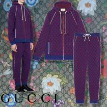 GUCCI 【GUCCI】 GG wool trousers & bomber jacket