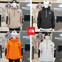 THE NORTH FACE Short Unisex Street Style Logo Anorak Jackets Jackets