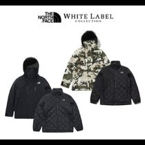 THE NORTH FACE WHITE LABEL Camouflage Unisex Nylon Street Style Plain Outerwear