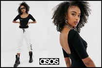ASOS Casual Style Street Style Plain Tops