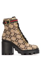 GUCCI Gg Wool Ankle Boot