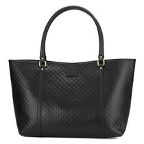 GUCCI A4 Office Style Logo Totes