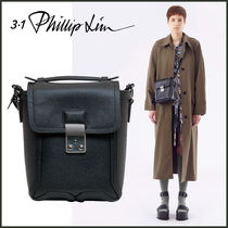 3.1 Phillip Lim Casual Style Calfskin 2WAY Plain Leather Party Style