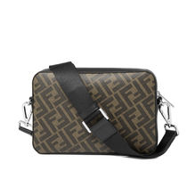 FENDI Calfskin Logo Messenger & Shoulder Bags