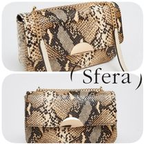 Sfera Casual Style Python Shoulder Bags