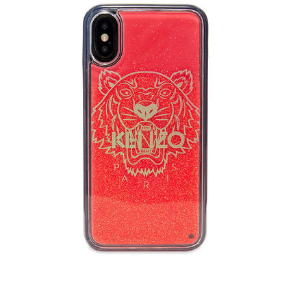 Unisex Street Style Glitter iPhone X iPhone XS iPhone XS Max