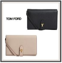 TOM FORD Casual Style Plain Leather Party Style Office Style