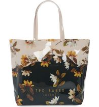 TED BAKER Flower Patterns Casual Style A4 PVC Clothing Elegant Style