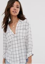 Abercrombie & Fitch Other Check Patterns Long Sleeves Shirts & Blouses
