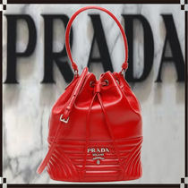 PRADA Casual Style 2WAY 3WAY Leather Party Style Purses