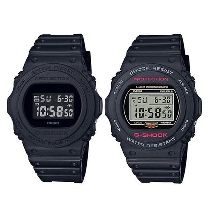 CASIO Casual Style Unisex Silicon Digital Watches
