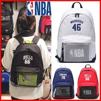 NBA Casual Style Unisex Street Style Collaboration Satchels