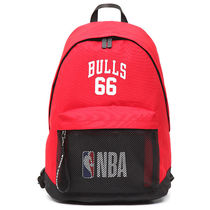 NBA Casual Style Unisex Street Style Collaboration Logo Satchels