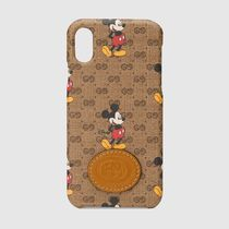 GUCCI GG Supreme Collaboration iPhone X iPhone XS Logo Smart Phone Cases