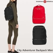 lululemon City Adventurer Casual Style Unisex Backpacks
