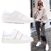 VALENTINO Plain PVC Clothing Low-Top Sneakers