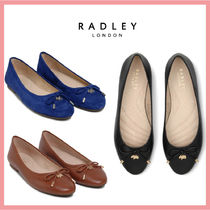 RADLEY Round Toe Casual Style Plain Leather Office Style