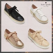 kate spade new york Casual Style Plain Low-Top Sneakers