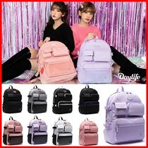 Daylife Casual Style Street Style Collaboration Satchels