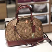 Coach Monogram Casual Style Street Style 2WAY