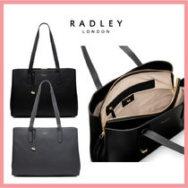RADLEY Casual Style Plain Leather Office Style Elegant Style Totes