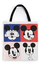 Primark Unisex Canvas Collaboration A4 Shoppers
