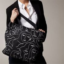 LOVE & LORE Casual Style Unisex A4 Office Style Crossbody Formal Style