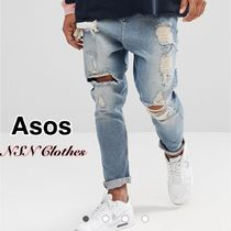 ASOS Denim Street Style Plain Cotton Jeans