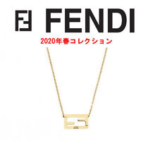 FENDI Metal With Jewels Necklaces & Chokers