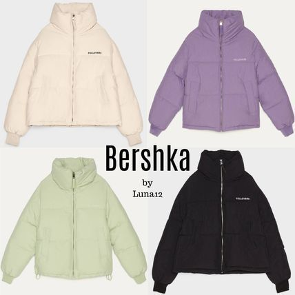 Casual Style Plain Medium Icy Color Jackets